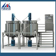 1000L industrial multifunctional mixer for shampoo ,detergent,liquid soap