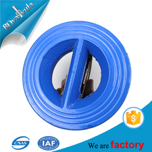API standard Rubber seal butterfly check valve for water