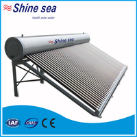 2016 Most Commercial Home Solar Systems - 500L Solar Water Heater for Big Family Use