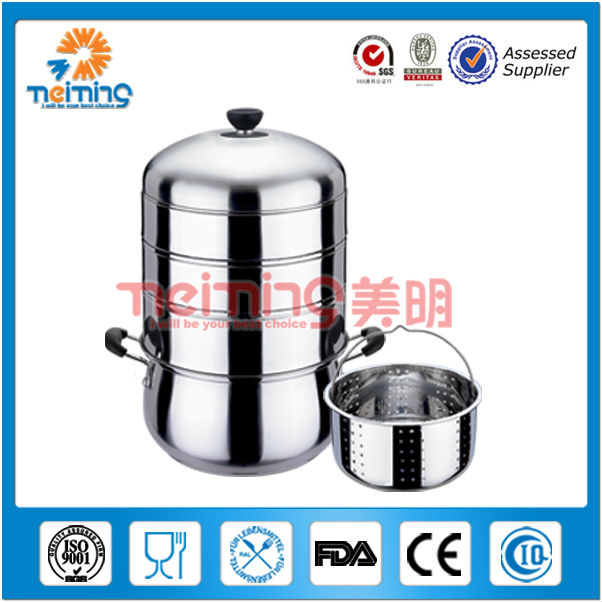 2013 new product energy conservation 4 tiers stainless steel idli steamer