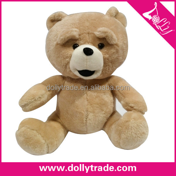 Lovely Gift Brown Bear Promotional Plush Toy