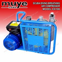 portable silent high pressure piston AC power Scuba Diving Breathing Piston Air Compressor
