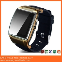 WP003 fashional smart watch phone avatar et-1iwith booth camera , phone call sleeping monitor smart watch