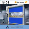 Low Noise Electric Automatic Stainless Steel Imported Motor Fast pvc Door