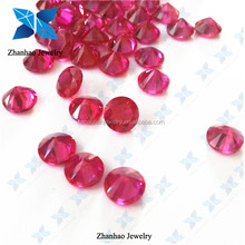 Round Brilliant Cut 5# Synthetic Loose Corundum Stone/Gemstone Ruby 5#