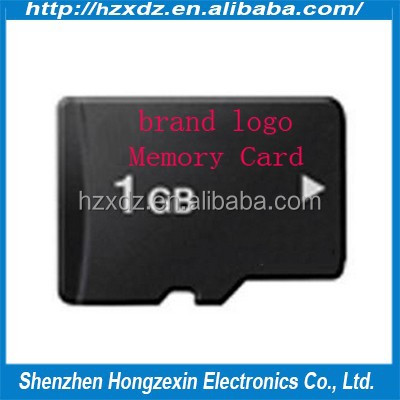 Factory price very low price memory card 1GB for cellphones or table pc or camera (OEM/ODM)