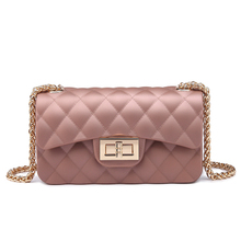 Graceful Women Fashion Rubber Material Jelly Bag Handbags Supplier