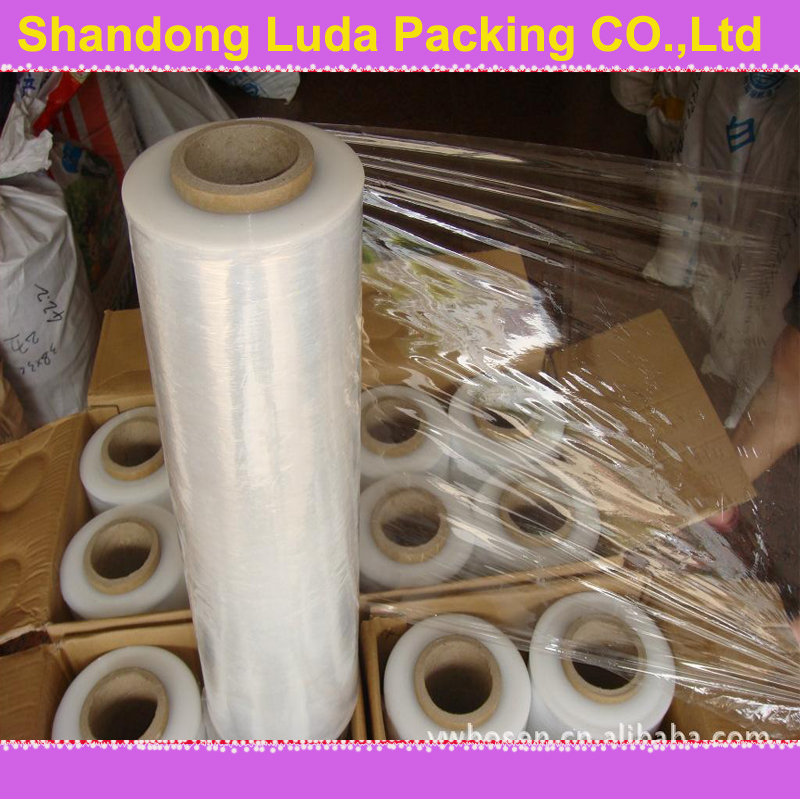 LLDPE Stretch Film /protective plastic film/Pure PE Polymer Stretch Film