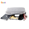 Encai Universal Digital Products Organizer Bag Phone USB Cable Charger Storage Bag