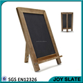 Rectangle restaurant sign board designs with rope writing slate board with stand