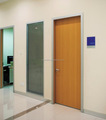 powder coated steel HPL hospital room door hospital office door patient room door