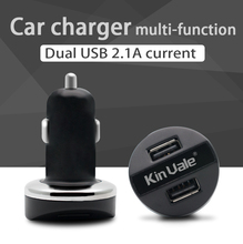 Two port used cell phone 2.4a car battery charger sale