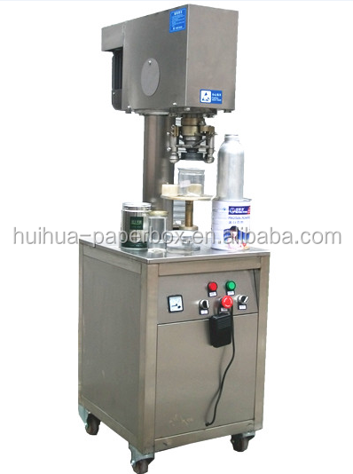 Cans Sealing Machine for Closing Lids