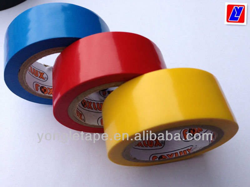pvc tape for extensions/hot sell UL tape CSA tape FR pvc tape/degaussing coil tape