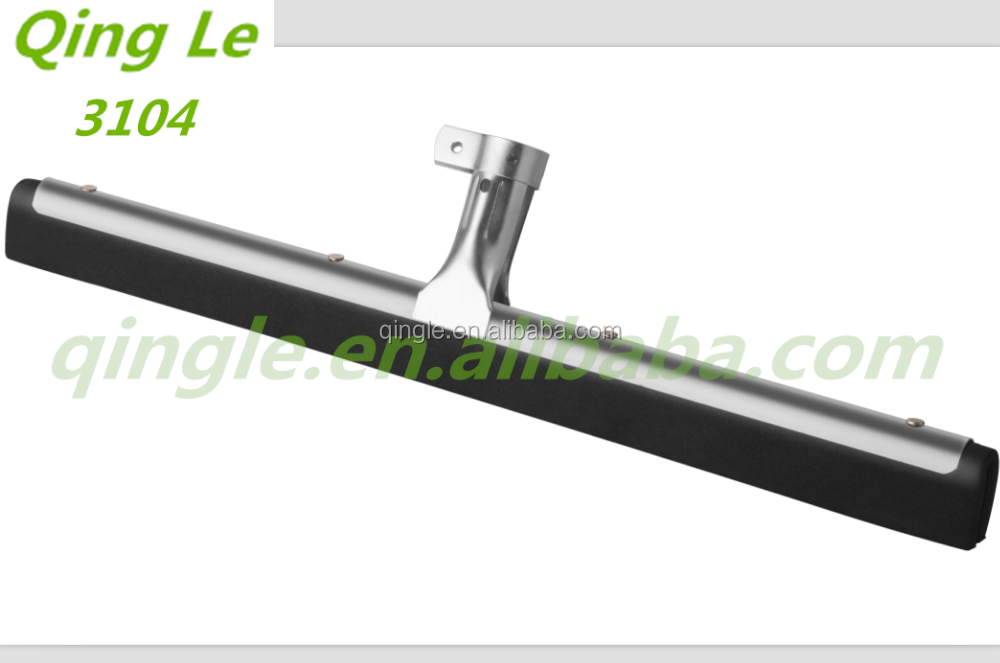 Iron floor cleaning wiper floor squeegee, industrial floor squeegees