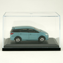 custom desktop clear doll toy storage acrylic car model display case cheap high quality