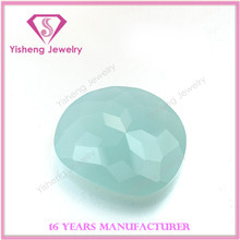 Jade milk color shining crystal glass turtle back lower price wuzhou manufacturer
