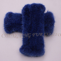 CX-A-61F Latest Fashionable Knit Real Mink Fur Women Gloves