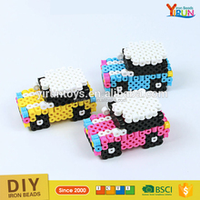 toys for kid 6000 bead/bucket 10mm hama perler beads wholesale car set kids toys educational