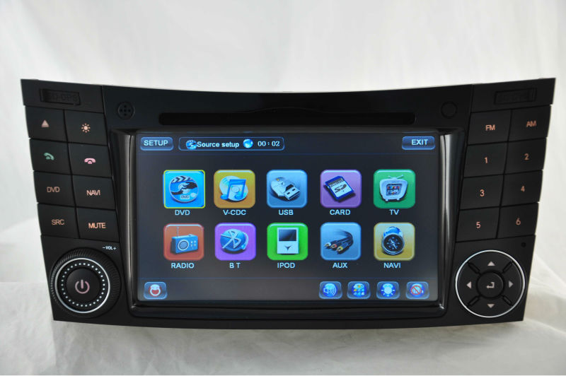 WITSON car gps navigation system for MERCEDES-BENZ W211 E CLASS