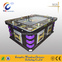 Wangdong Most popular coin operated fish hunting game/fish game machines