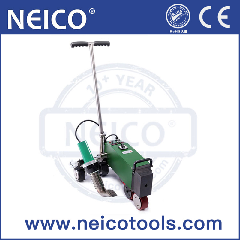 Professional High Welding Speed 230V 4200W PVC / TPO Single Ply Roofing Membranes Automatic Hot Air Welding Machine