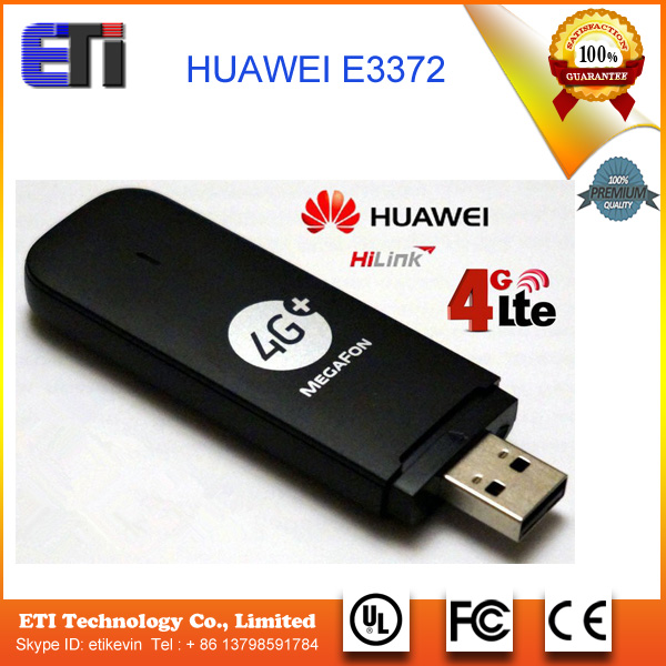 Unlocked Huawei E3370 E3372 M150-2 150Mbps 4G FDD 800/900/1800/2100/2600MHz USB Wireless Modem 3G Mobile Broadband