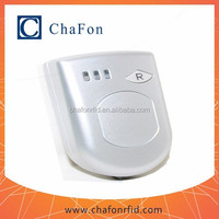 13.56MHz bluetooth smart card reader can work with Android mobile phone or tablet with battery inside