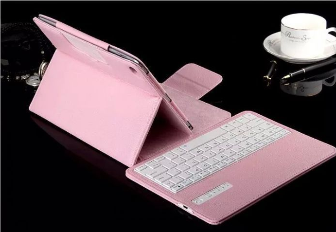 For iPad3/4/5 Tablet Panel Full Cover Leather Case, For iPad Mini Bluetooth Keyboard Case