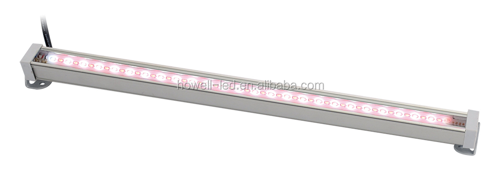 ningbo low voltage smd2835 120degree blue red wavelength aluminium 7.5W 0.3 meter led strip plant growth lamp light