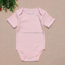 2018 blank organic cotton baby clothes import new born baby clothes