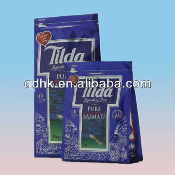 new product 2014 rice packaging bag china supplier