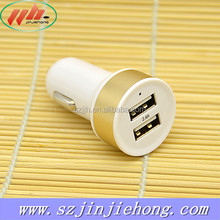 Fashion OEM Dual 2-port Wholesale USB Car Charger Adapter for Cell Phone