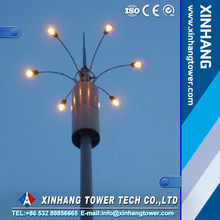mobile communication pole / tower price high quality wifi tower monopole