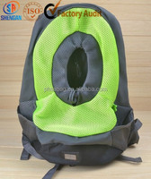 breathable sandwich mesh cat carrier backpack for small animals