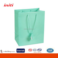 2016 OEM cheap small paper gift bags with handles