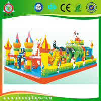 JMQ-P130G Large inflatable playground,kids inflatable amusement park,inflatalbe bounce castle from China manufactory