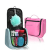 2014 Folding Travel Cosmetic Organizer Bag With Compartments