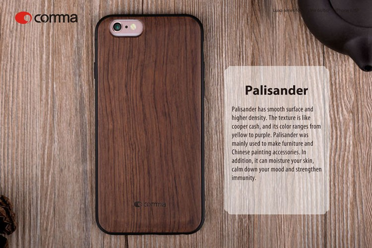 For iPhone Wood Case