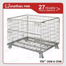 SXL-A factory supplied wire mesh storage cage with wheels