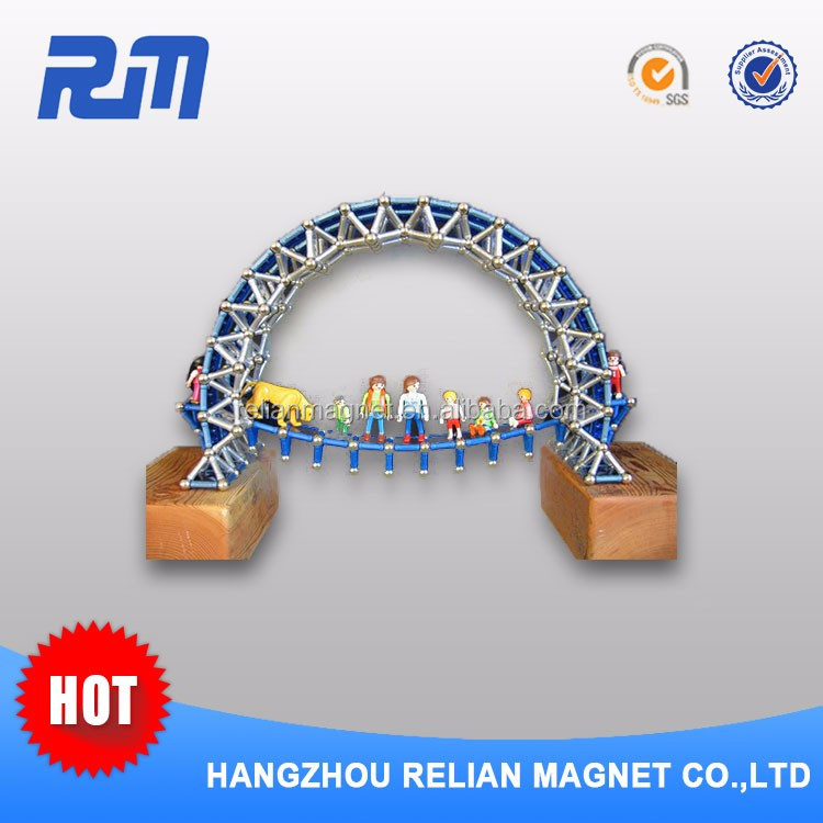 Promotional permanent ndfeb neodimium magnet magnetic balls and stick toys