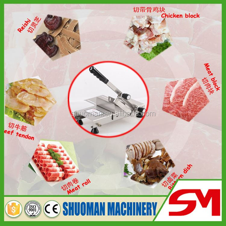 Hot sale sturdy durable machine for slicing sausage