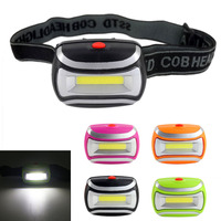 Mini 3W COB 600 Lm LED Headlamp High Quality AAA Headlamp Super Bright LED Linternas Headlight for Camping Hiking Fishing