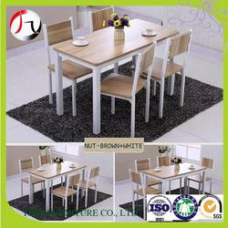 YJ-ST001 hotel square dining table and chairs