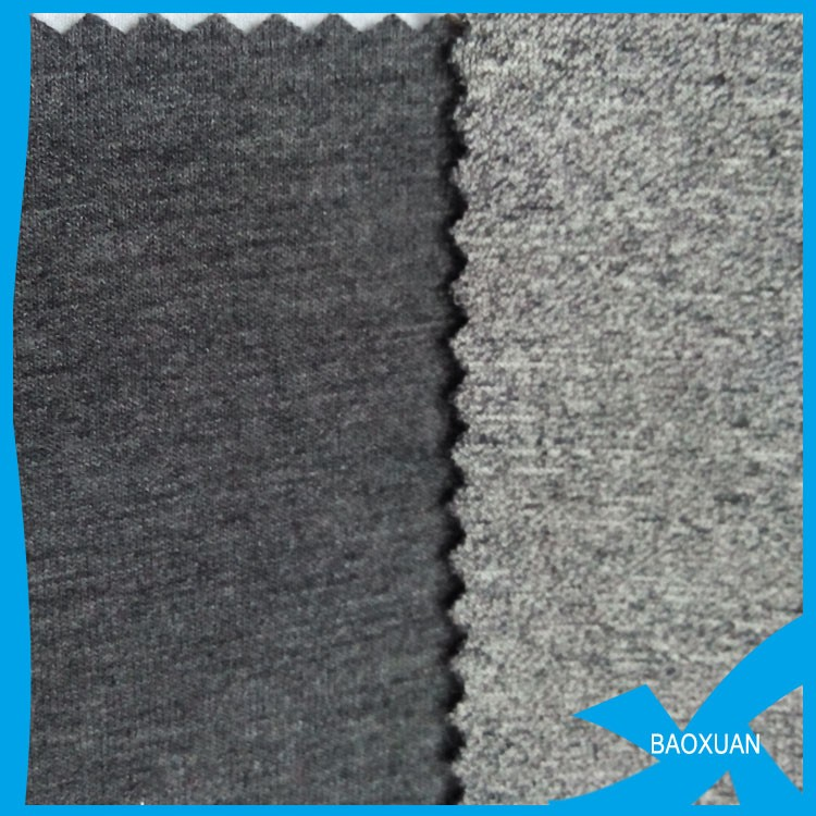 61polyester 32rayon 7spandex knit fabric/grey interlock scuba fabric/TR factory price suit fabric