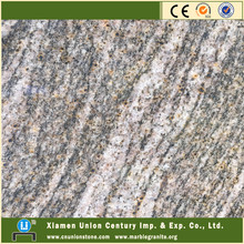 Polished juparana golden granite
