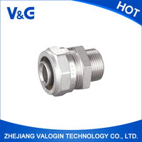 Forged Technics high quality brass solder fitting, CE , DVGW approved valve fittings