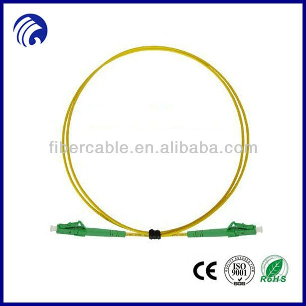 Supply high quality lc-lc apc SM SX outdoor fiber optic patch cord outdoor fiber patch cord PVC/LSZH optical patch cable