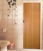 low price plastic folding doors for bathroom