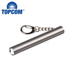 XPE LED Stainless Steel AAA Flash Light Key Chain Small Portable LED Torch Keyring